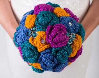 Bridal bouquet package