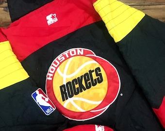 b431ff1a91c Vintage Houston Rockets Starter Jacket