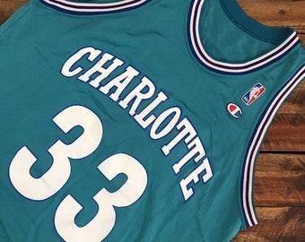 6b102f50082 Vintage Charlotte Hornetts Jersey
