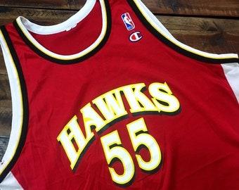 6123afaab Vintage MUTOMBO Atlanta Hawks Jersey