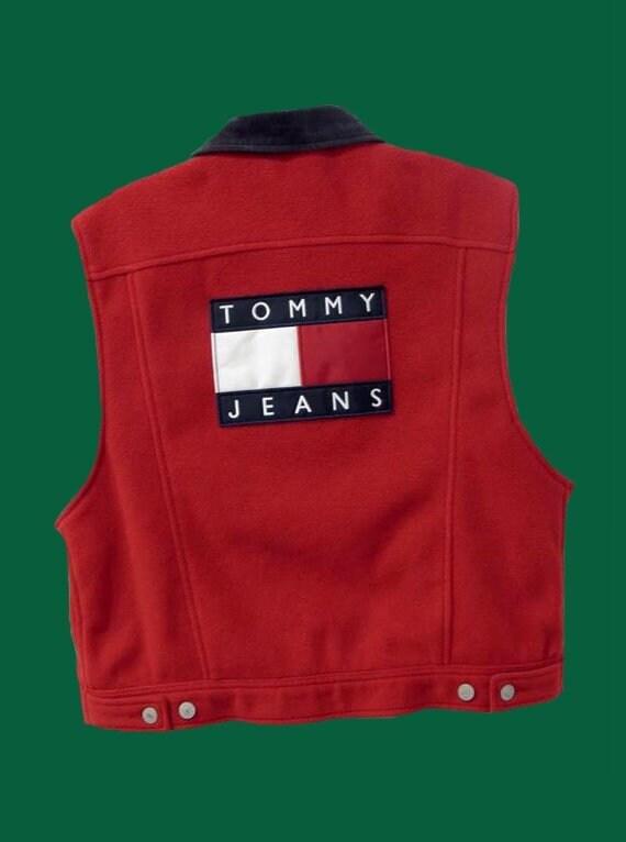 Vintage Tommy Jeans  Fleece Vest