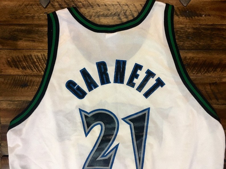 Vintage Minnesota Timberwolves Kevin Garnett Jersey