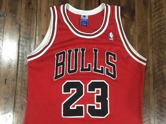 Vintage Chicago Bulls Michael Jordan Authentic Cha