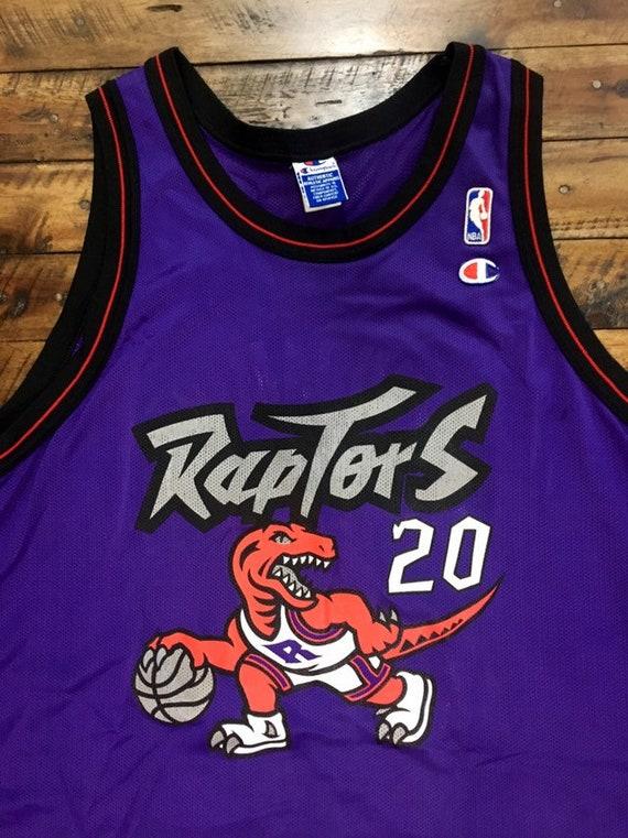 Vintage Toronto Raptors Dinosaur Jersey