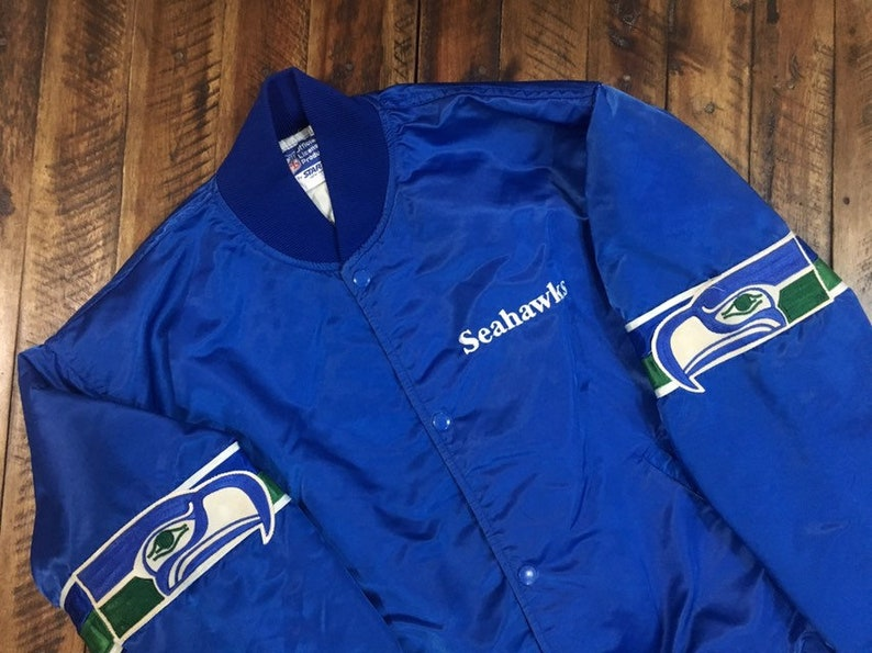 sports shoes c4a16 ac448 Vintage Seattle Seahawks Starter Jacket