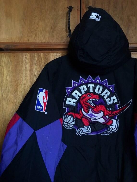 Vintage Toronto Raptors Starter Teflon Jacket