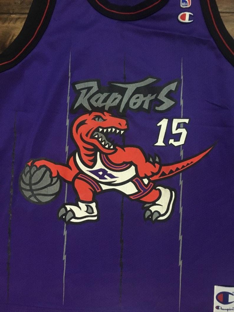 super cute 3556a 7433d Vintage Toronto Raptors Vince Carter Jersey!