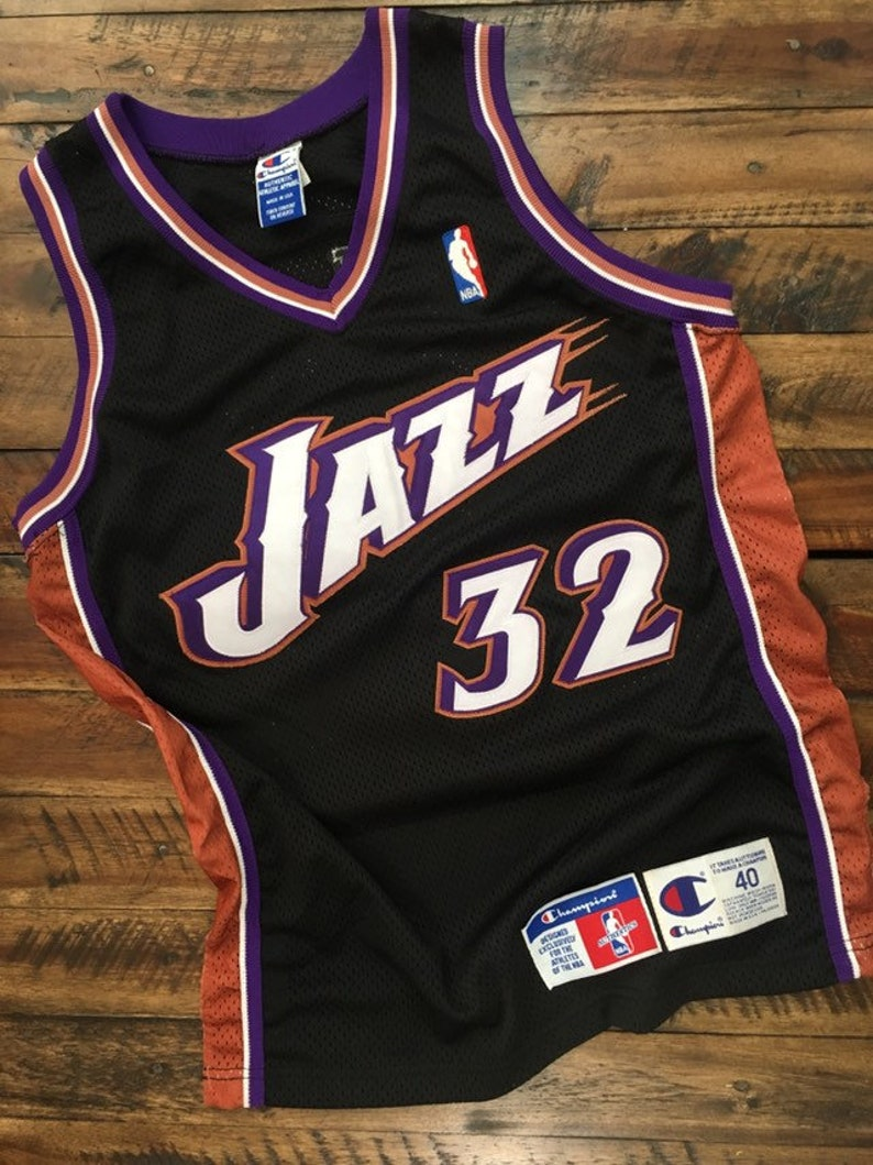 outlet store 37e2c 632f7 Vintage Utah Jazz Authentic Jersey