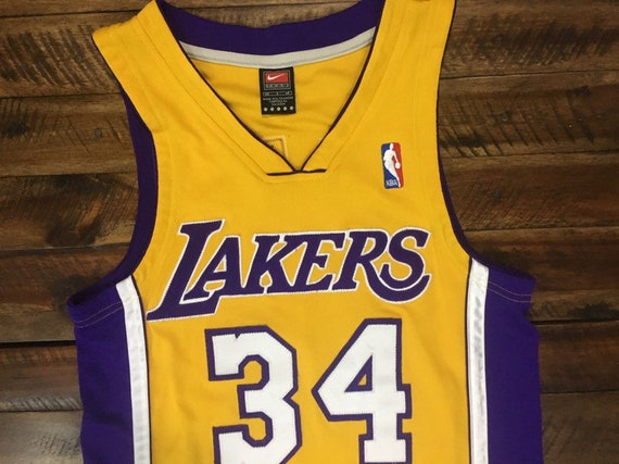new style eb041 70b90 Vintage Los Angeles Lakers Authentic Jersey