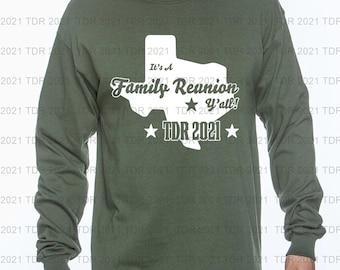 Official Texas Designers Roundup 2021  Long Sleeve T-Shirt