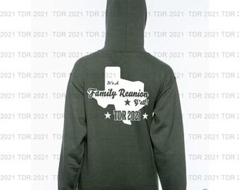 Official Texas Designers Roundup 2021  Full Zip Hoodie