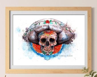 la calavera Mexicana