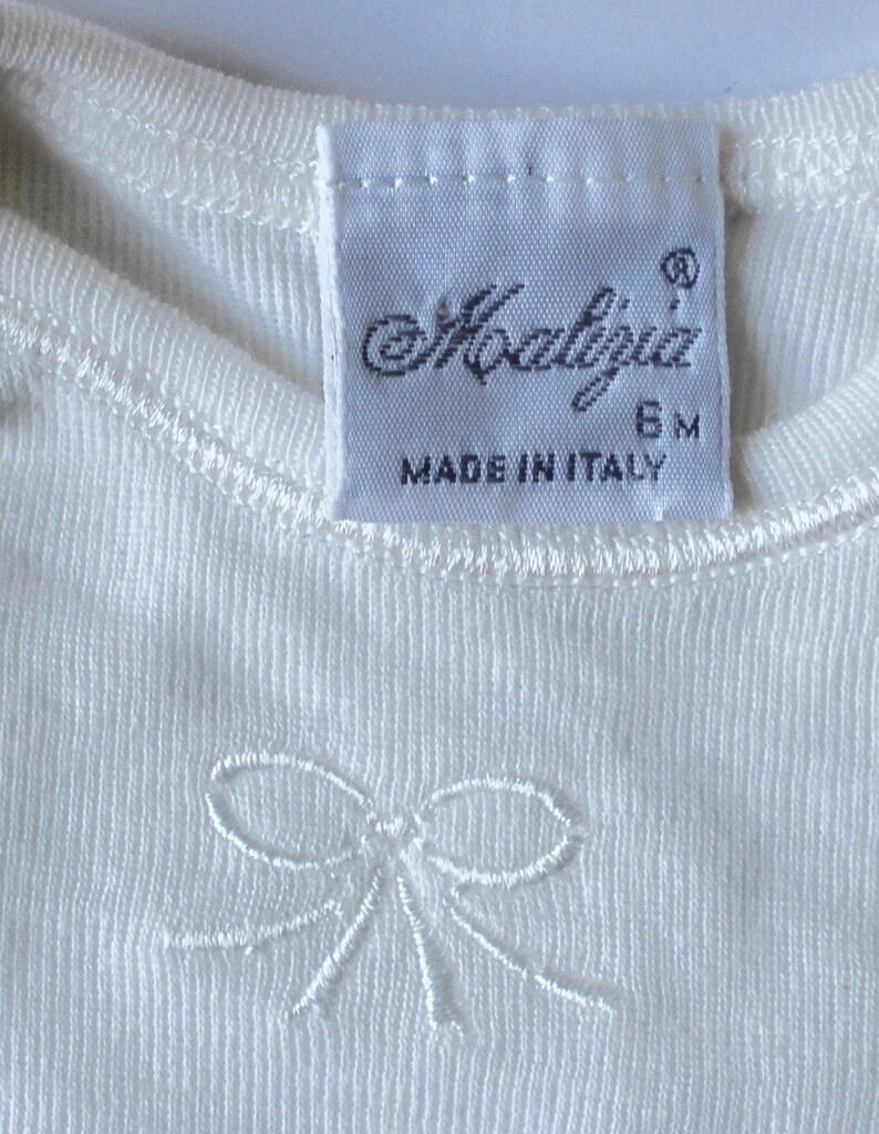 Fine WoolCotton Vest by Malizia La Perla made in Italy