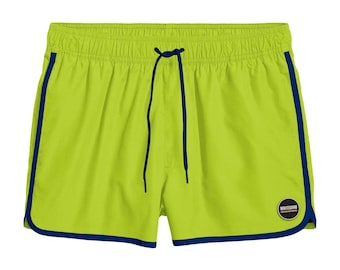 Short Sea Neon Green