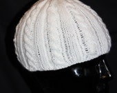 DJ-style hat with braid pattern (Ben, DJ-Ötzi, Beanie)