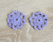 Flor-colored earrings