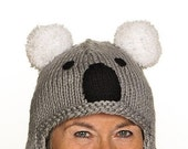 Captier - UNIQUE - handmade cap in koala form for adults