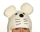 Captier - UNIQUE - handmade cap in polar bear shape for children