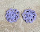 Flor-colored earrings