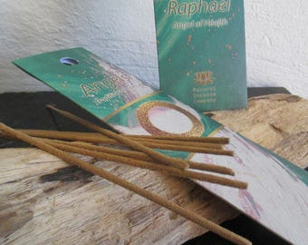 Incense of angels, dedicated to the Archangel Raphael.