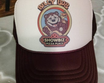 Showbiz Billy Bob Chuck E Cheese Trucker Hat