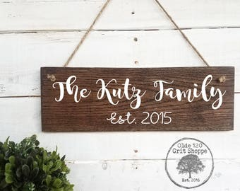Custom Wood Sign   Family Name Sign   Rustic Home Decor   Personalized Home  Decor Sign   Farmhouse   Create Your Own Wood Sign   Design Sign