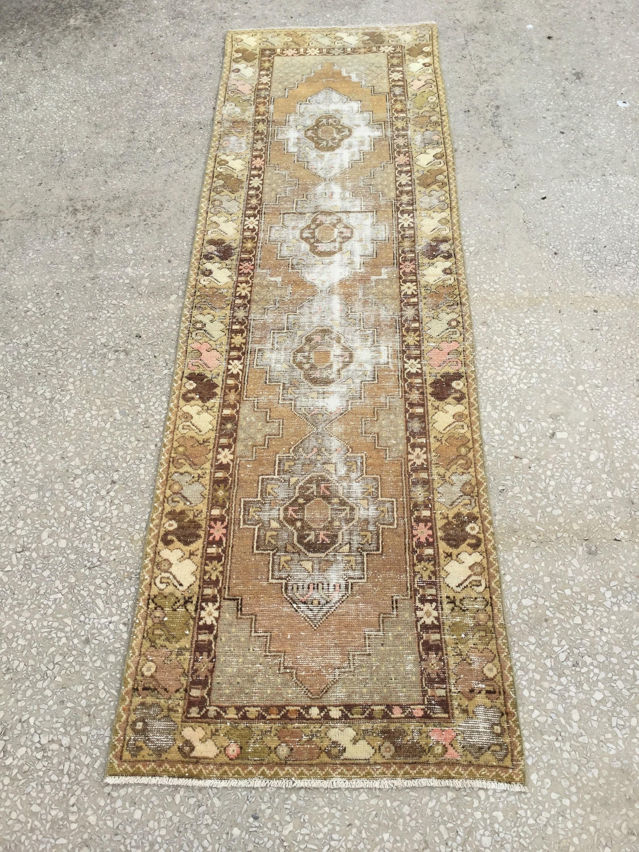 9 2x2 8 Feet 282x85 Cm Antique Rug Floor Rug Runner Turkish Etsy