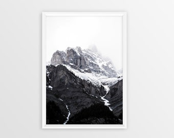 Mountain Print, Mountain Decor, Mountain Art, Mountains Photography, Mindfulness Gift, Wanderlust, Nature Meditation, Nature Lover Gift