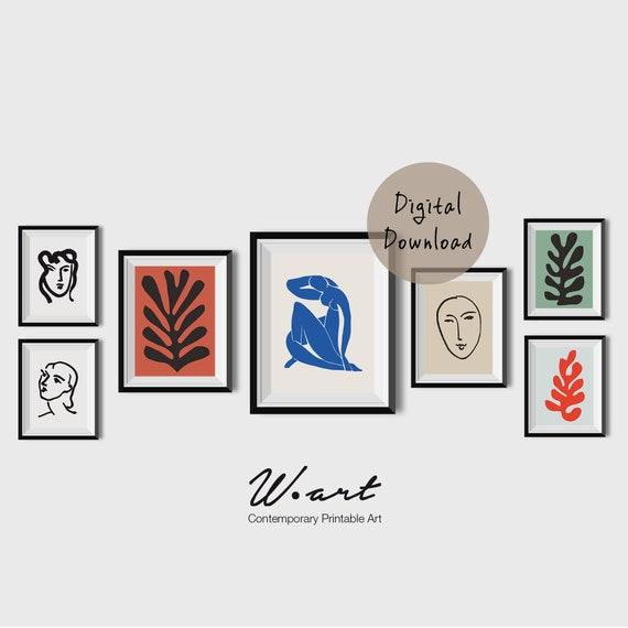 39d602dfd34 MATISSE PRINT SET set of 7 print Matisse Poster Matisse