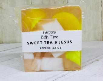Sweet Tea Soap - Handmade Soap - Iced Tea Soap - Country Soap - Novelty Soap