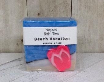 Beach Vacation Goat Milk Soap