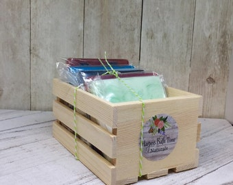 Teachers gift, party gifts, soap ends, guest soap,small soaps, stocking stuffer, sliced soaps