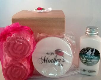 mothers day gift, spa and relaxation kit with free shipping