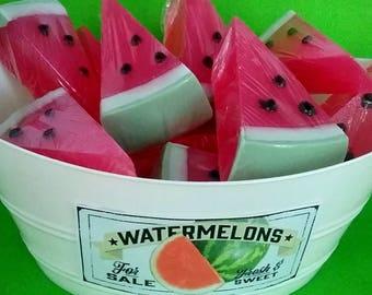 Watermelon Goat Milk Soap Watermelon Slice Soap