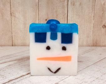 Frosty Snowman Winter Soap