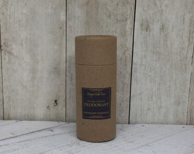 Featured listing image: Zero Waste Charcoal Deodorant--Unscented Baking Soda Free and Aluminum Free for Self Care