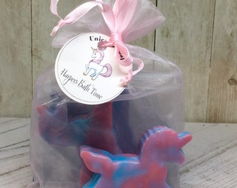 unicorn soaps, stocking stuffer, shea butter soap, childrens soap, natural soap