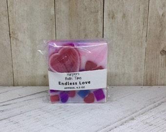 Valentine Heart Soap--Eternal Love