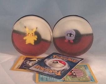 Pokemon Soap, Natural Goat Milk, Toy Soap, Children's Soap Collectible