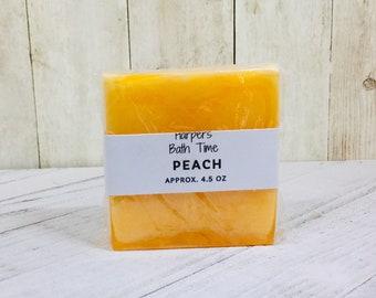 Goat Milk Peach Soap, Detergent Free Soap