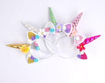 UNICORN Headband 10 Pack for Unicorn Party Favor Wholesale
