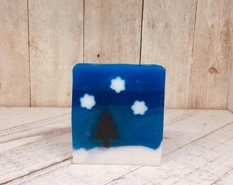 Winter Sky Detergent Free Goat Milk Soap