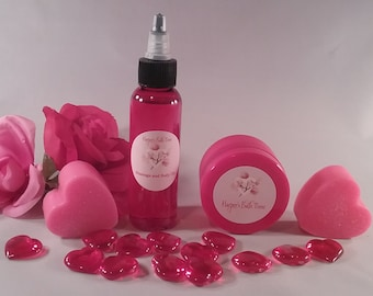 Organic Edible Massage Oil, Mini Spa Anniversary Gift