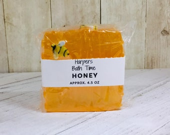 Oatmeal Milk And Honey Detergent Free Glycerin Soap