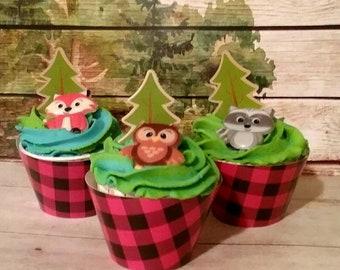 Bath bomb cupcake with bubble bar woodland friends, unicorn bath bomb, fox bath bomb, starfish bath bomb