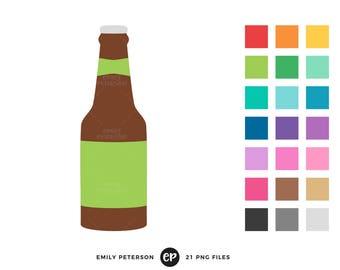 beer bottle clip art etsy rh etsy com beer bottle image clipart beer bottle outline clipart