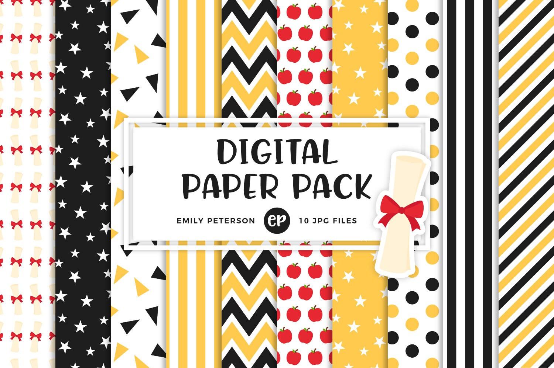 Graduation Digital Paper School Background Paper ...