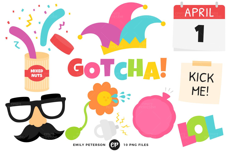 April Fools Clip Art, Practical Joke Clipart, Prank Clip Art ...