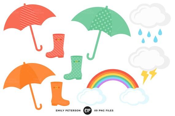 rain clip art spring clipart april showers clip art etsy rh etsy com april showers clipart free april showers clipart black and white