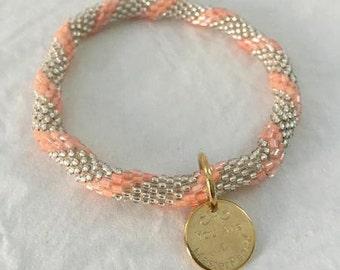 Peaches n' Cream Bracelet